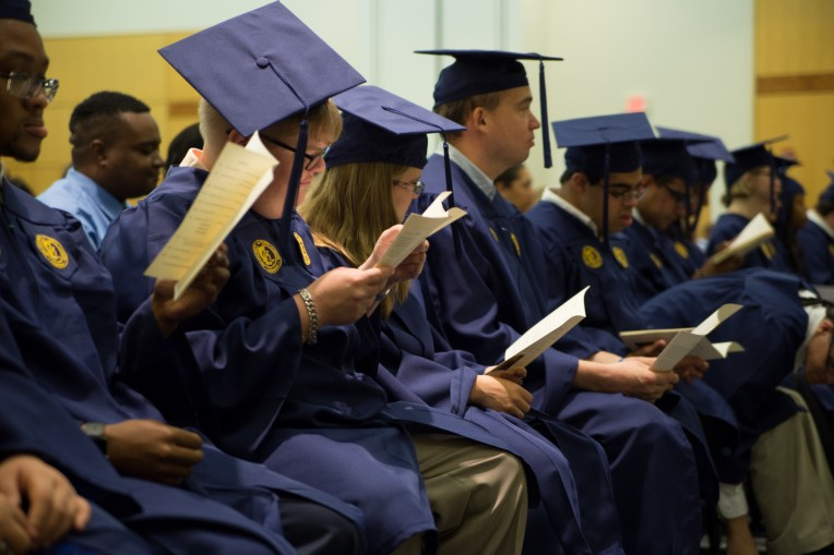 UNCG students attend commencement